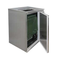 Refrigerating box for waste