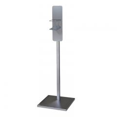 Hand sanitizer stand square-tube