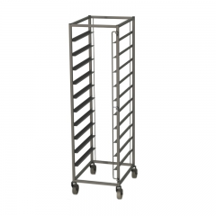 Tray trolley for thermoboxes with 10 levels