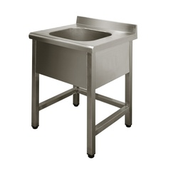 Single sink unit Lux