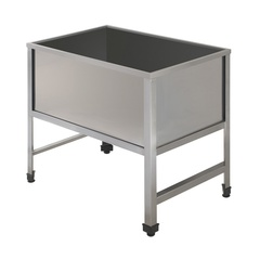 Single sink unit with angle profiles