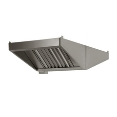 Central exhaust hood without motor