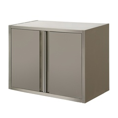 Wall cabinet with swing doors