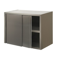 Wall cabinet with sliding doors
