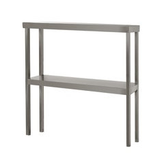Double shelf for table