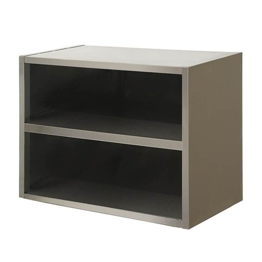 Wall cabinet without doors