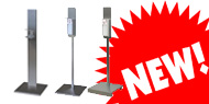 STAY SAFE WITH SIMECO!!! HAND SANITIZER STANDS FROM STAINLESS STEEL