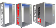 STAY SAFE WITH SIMECO!!! Disinfection tunnels